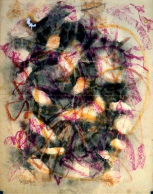 Pastel sur papier - 65x50cm - 1963