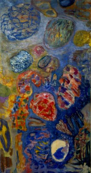 Huile sur toile - 150x80cm - 1963