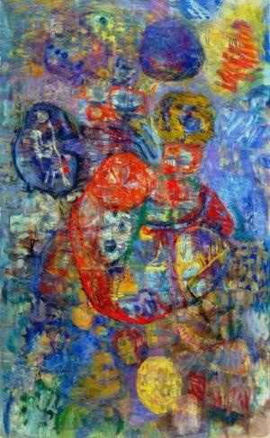 Huile sur toile - 146x89cm (80M) - 1965