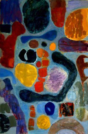 Huile sur toile - 148x97cm (80P) - 1965