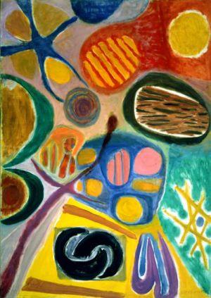 Huile sur toile - 140x100cm - 1967
