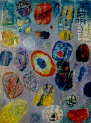 Huile sur toile - 130x97cm (60F) - 1964