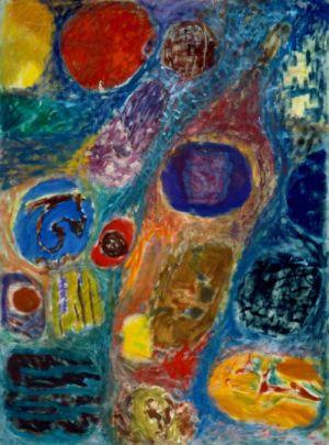 Huile sur toile - 130x97cm (60F) - 1966