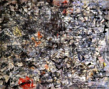 Huile sur toile - 99x89cm - 1957 - Signature en bas à droite