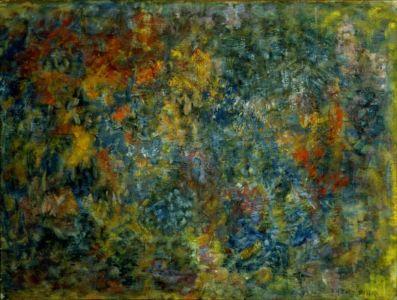Huile sur toile - 98x72cm (40P) - 1958 - Signature en bas à droite