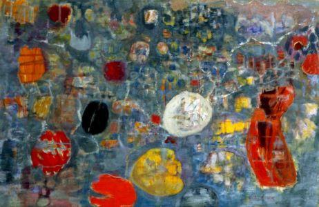 Huile sur toile - 98x63cm (40M) - 1962 - Signature en bas à droite - Collection privée