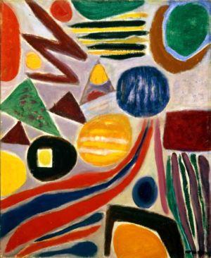 Huile sur toile - 100x81cm (40F) - 1967 - Signature en bas à droite
