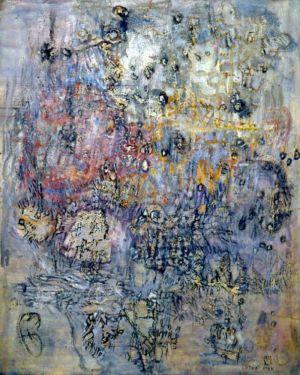 Huile sur toile - 92x73cm - 1960 - Signature en bas à droite