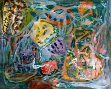 Huile sur toile - 80x64cm (25F) - 1960