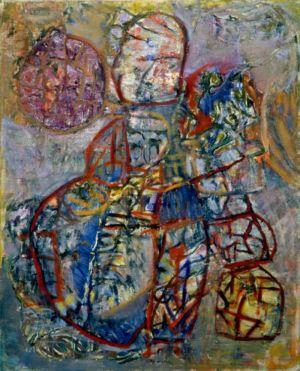 Huile sur toile - 81x65cm (25F) - 1966