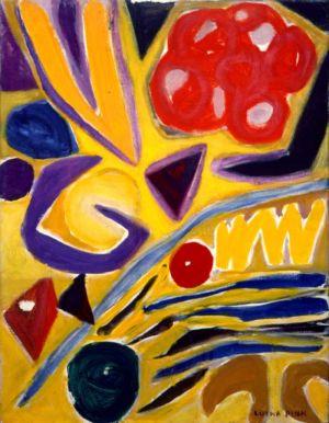 Huile sur toile - 65x50cm (15P) - 1967 - Signature en bas à droite
