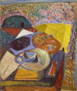 Huile sur toile - 65x54cm (15F) - 1948 - Signature en bas à droite