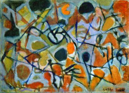 Huile sur toile - 58x42cm - 1960 - Signature en bas à droite
