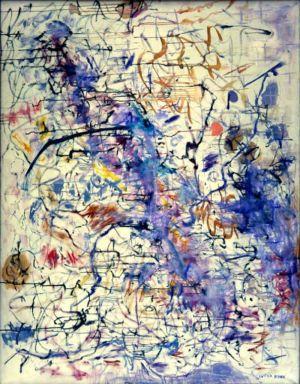Huile sur toile - 146x144cm (80F) - 1962 - Signature en bas à droite