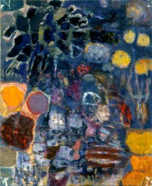 """Huile sur toile - 98x77cm - 1962 - Au dos """"62"""""""
