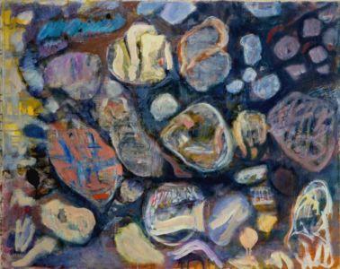 """Huile sur toile - 92x73cm (30F) - 1963 - Au dos """" 63 """""""