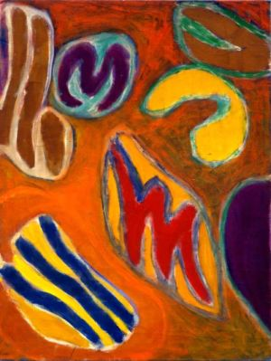 """Huile sur toile - 74x55cm (20P - 1966 - Au dos """"66"""""""