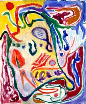 Huile sur toile - 74x60cm (20F) - 1991