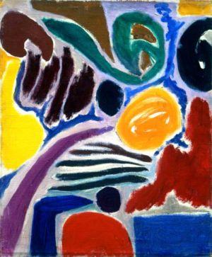 """Huile sur toile - 74x60cm (20F) - 1967 - Au dos """"67"""""""