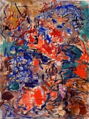 Huile sur toile - 72x54cm (20P) - 1955